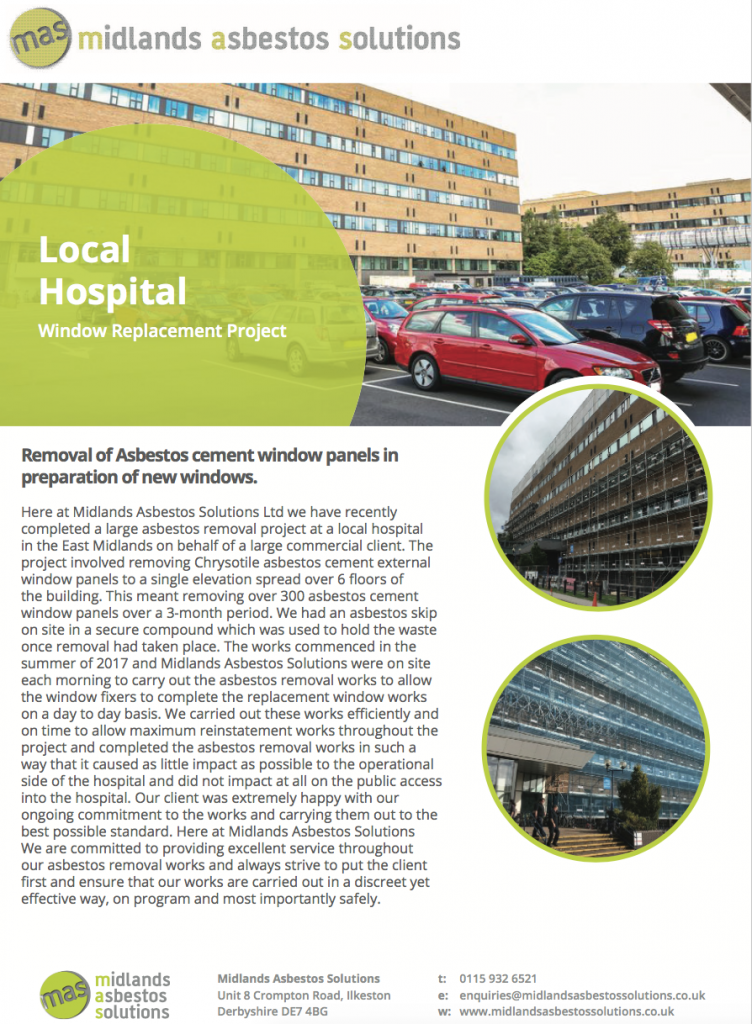 Local Hospital Case Study