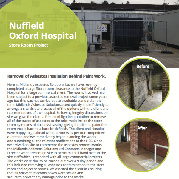 nuffield hospital case study